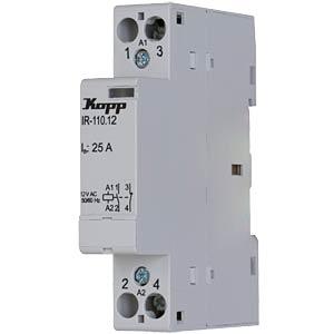 Installation relay, 25 A, 12 V AC, 1x NO KOPP 761026011