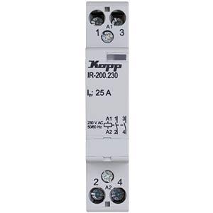 Installations-Relais 25A, 230V AC, 2xSchließer KOPP 761033015