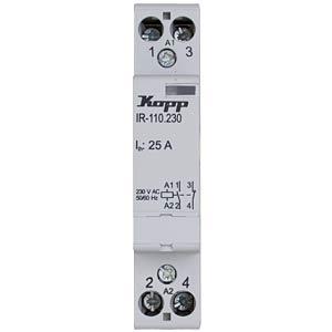 Installation relay 25 A, 230 V AC, 1x NO, 1x NC KOPP 761034016