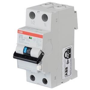 RCD/Circuit Breaker - 1P+N, B 10 A/10 mA ABB DS201A-B10/0,01