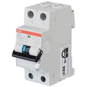 FI/LS-Schalter - 1P+N, B 10 A/30 mA ABB DS201A-B10/0,03