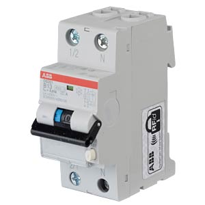 RCD/Circuit Breaker - 1P+N, B 13 A/10 mA ABB DS201A-B13/0,01