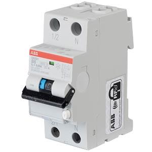 RCD/Circuit Breaker - 1P+N, B 6 A/30 mA ABB DS201A-B6/0,03