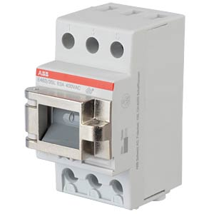 Main Switch - 2.5 TE, 3 NO contacts, 63 A, Lockable ABB E463/3-SL