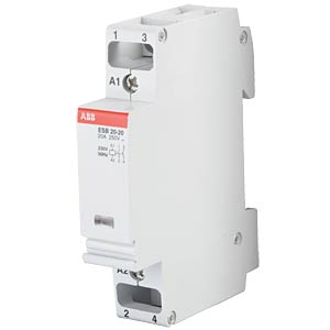 Installation contactor, 2 NO contacts, 20 A ABB 102529