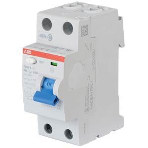 FI-veiligheidsschakelaar - 2-pol, 40 A/30 mA, type A ABB F202A-40/0,03