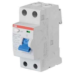 Fehlerstromschutz-Schalter, Typ F, 25 A ABB F202F-25/0,03