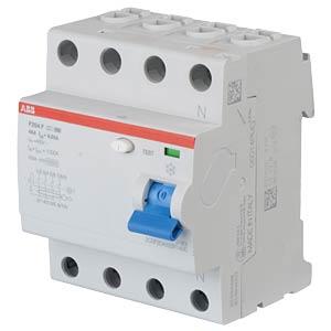 FI-Schutzschalter - 2-pol, 40 A/30 mA, Typ F ABB F202F-40/0,03