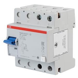 FI-Schutzschalter - 2-pol, 40 A/30 mA, Typ B ABB F202PVB-40/0,03