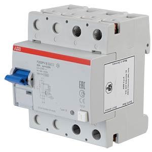 Fehlerstromschutz-Schalter, Typ B, 63 A ABB F202PVB-63/0,03