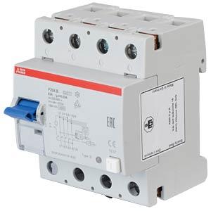 Fehlerstromschutz-Schalter, Typ B, 63 A ABB F204B-63/0,03