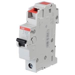 Circuit Breaker - B 20 A, 1-Pole, 6 kA ABB S201S-B20