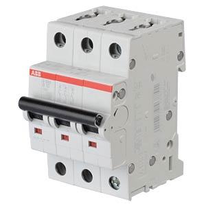 LS-Schalter - B 10 A, 3-pol, 6 kA ABB S203-B10