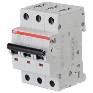 Circuit Breaker - B 13 A, 3-Pole, 6 kA ABB S203-B13