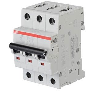 Leitungsschutzschalter, Char. B, 6 A, 3 polig ABB S203-B6