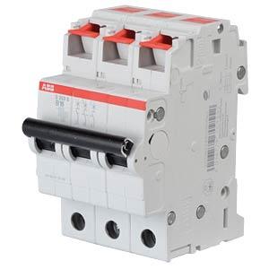 Circuit Breaker - B-16 A, 3-Pole, 6 kA ABB S203S-B16