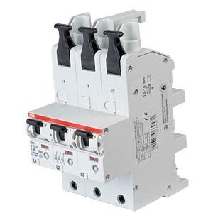 Automatic Main Circuit Breaker - Selective, 3 x 1-Pole, 50 A ABB S751/3-E50