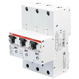 Hauptsicherungsautomat, selektiv, 40 A, 3 x 1 polig ABB S751/3DR-E40