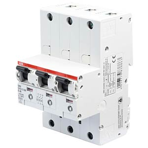 Main circuit breaker — selective, 3 x 1-pin, 40A ABB S751/3DR-E40