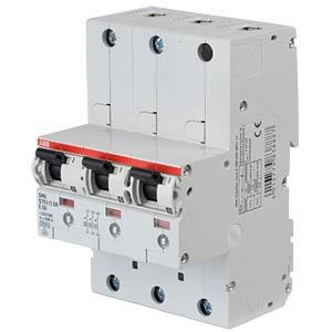 Hauptsicherungsautomat - selektiv, 3 x 1-pol, 50 A ABB S751/3DR-E50