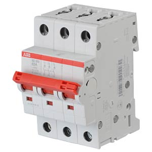 Load-Break Switch - 3 TE, 3 NO contacts, 63 A ABB SD203/63