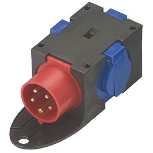 CEE distributor, 3 earthed sockets PC ELECTRIC 140002