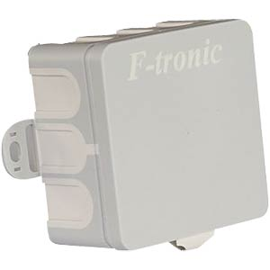 Junction box, surface-mounted, wet room 75 x 75 x 38 mm F-TRONIC E-1000