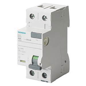 FI circuit breaker, 16A, 2-pin, 10mA SIEMENS 5SV3111-6