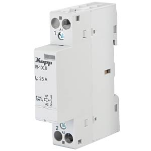 Installation relay, 25 A, 8 V AC, 1x NO KOPP 761024019