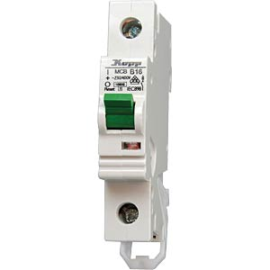 Circuit breaker, 13 A, 1-pin, 230 V/400 V KOPP 7213.0000.5