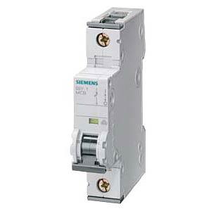 Circuit breaker, C 4 A, 1-pole SIEMENS 5SY4104-7