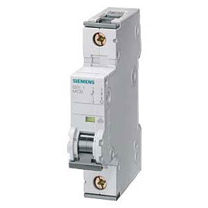 Circuit breaker, C 6 A, 1-pole SIEMENS 5SY4106-7
