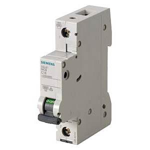 Circuit breaker, C 10 A, 1-pole SIEMENS 5SL6110-7