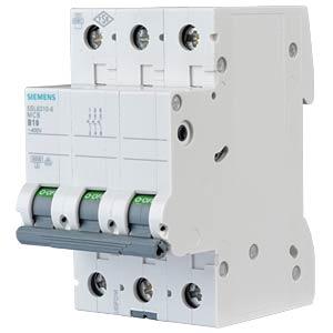 LS-Schalter, B 10 A, 3-pol SIEMENS 5SL6310-6
