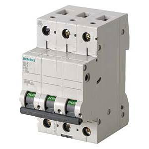 Circuit breaker, C 32 A, 3-pole SIEMENS 5SL6332-7