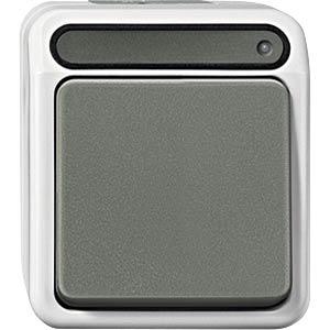 Aquastar Aus/Wechsel-Kontrollschalter, 1-pol, lg MERTEN MEG3106-8029