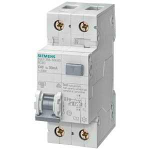 FI/LS protection device — type A, 30 mA, 1+N, B 16 SIEMENS 5SU1356-6KK16