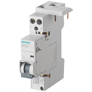 Fire circuit breaker, 1 - 16 A, 230 V, for circuit breakers 1+N SIEMENS 5SM6011-1