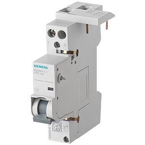 Brandschutzschalter, 1 - 16 A, 230 V, für LS-Schalter 1+N SIEMENS 5SM6011-1