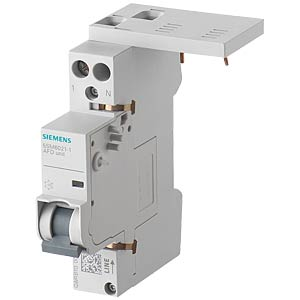 Fire circuit breaker, 1 - 16 A, 230 V, for circuit breakers and SIEMENS 5SM6021-1