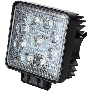 LED-Scheinwerfer, 20 W, 1800 lm, 12 - 24 V, schwarz FREI