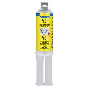 Strukturkleber, Plastic-Bond, chremeweiß, milchig, 24 ml WEICON 10565024