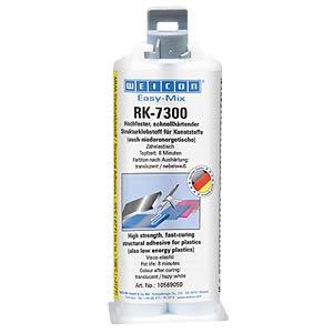 Strukturkleber, Konstruktionskleber, Easy-Mix RK7000, transparen WEICON 10569050