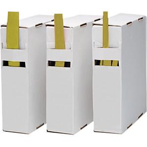 Schrumpfschlauch-Box, 2:1, 3,5 - 1,5 mm, gelb, 15 m RND COMPONENTS RND 465-00252