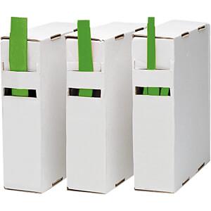 Schrumpfschlauch-Box, 2:1, 6,5 - 3 mm, grün, 10 m RND COMPONENTS RND 465-00265