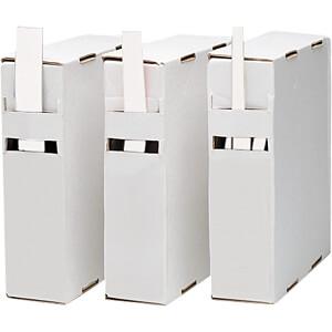 Schrumpfschlauch-Box, 2:1, 5 - 2,3 mm, weiß, 10 m RND COMPONENTS RND 465-00260