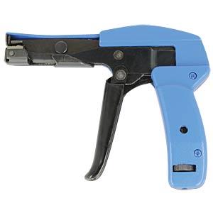 Kabelbinderzange für Kunststoffbänder, blau / schwarz DELOCK 86177