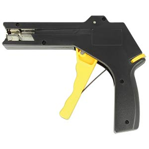 Cable tie installation tool yellow / black DELOCK 86178