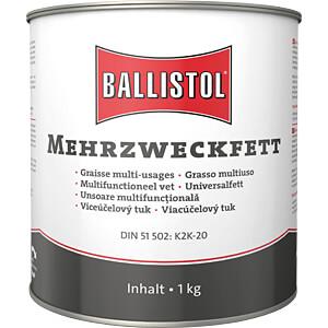 Mehrzweckfett, 1000 gr, Dose BALLISTOL 25351