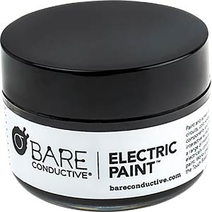 Conductive paint, 50-ml jar BARE CONDUCTIVE SKU-0209